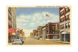 Okmulgee Avenue, Muskogee Prints