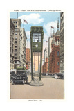 Traffic Tower, Midtown Manhattan Art