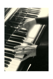 Hands on Piano Keyboard Prints