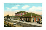 Northern Pacific Depot, Livingston Prints