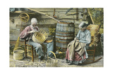 Basket Weaving in Kentucky Posters