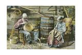 Basket Weaving in Kentucky Posters