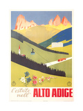 Travel Poster for Alto Adige Poster