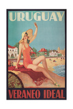 Travel Poster for Uruguay Posters