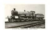 Six Coupled Passenger Train Engine Prints
