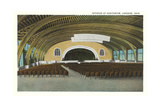 Auditorium Interior, Lakeside Prints