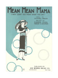 Mean Mama Sheet Music Posters