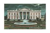 Old White House Illustration Prints