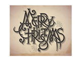 Vintage Style Detailed Christmas Card Prints by  traffico
