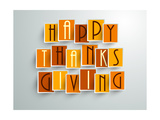 Happy Thanksgiving Poster by  aispl