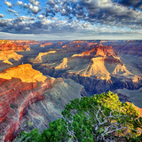 Morning Light at Grand Canyon Lámina fotográfica por prochasson
