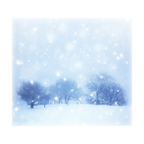 Beautiful Snowy Landscape Art PrintAnna Omelchenko