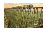 Kinzua Bridge, Kane Kunstdrucke