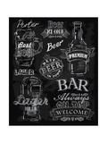 Chalk Beer Plakater af  bioraven