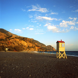 A Lifeguard's Lookout Box on the Deserted Beach at Souqia, South Crete Posters by  PaulCowan