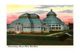 Conservatory, Bronx Park Posters