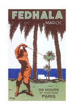 Golfing in Morocco Posters