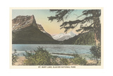 St. Mary Lake, Glacier National Park Art