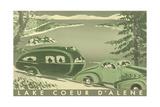 Lake Coeur D'Alene Poster