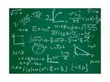 PicsFive - Math Formulas on School Blackboard Education Obrazy