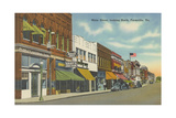 Main Street, North Farmville Prints