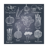 Tasty Vegetables Posters by  smilewithjul