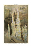 Mammoth Cave, Frozen Niagara Entrance Poster