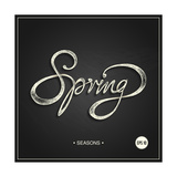 Spring - Phrase Posters by  ONiONAstudio