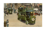 Double Deck Bus, Fifth Ave., New York City Prints