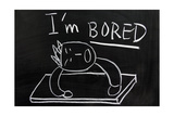 I'm Bored Prints by  Raywoo