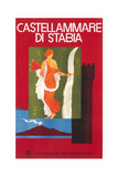 Travel Poster for Castellamare di Stabia Print