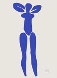 Verve - Nu bleu I Samletrykk av Henri Matisse