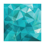 Abstract Triangle Background Prints by  Ms.Moloko