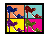 Pop Art Shoes Prints by  CameleonQc