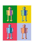 Retro Future Prints by Mark Carrel