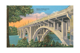Henley Street Bridge, Knoxville Posters