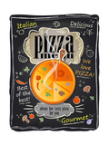 Vintage Chalk Pizza Menu Prints by  Selenka