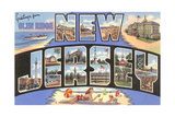 Greetings from Glen Ridge, New Jersey Prints