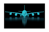 Commercial Aircraft Mesh Prints by  nmcandre