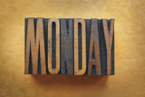 Monday Photographic Print by  enterlinedesign