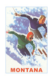 Ski Montana Poster Print