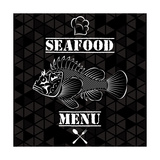 Fish for the Restaurant Menu Prints by  111chemodan111