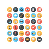 Business Icons Premium Giclee Print by Basinski Maxim
