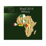 Brazil 2014 Team Africa Poster by  myotrostock