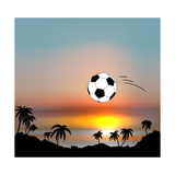 World Cup in Brazil Print by Irina Solatges