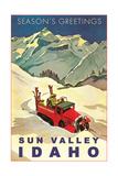 Season's Greetings from Sun Valley - Reprodüksiyon