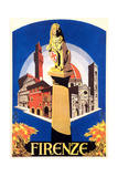 Travel Poster for Florence Prints