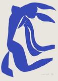 Verve - Nu bleu VII Premium-versjoner av Henri Matisse