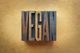 Vegan Photographic Print by  enterlinedesign