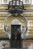 Dilapidated Art Nouveau Building, Riga Latvia Prints by  KerinF